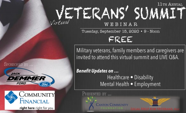 Canton Community Foundation Hosts Annual Veterans' Summit